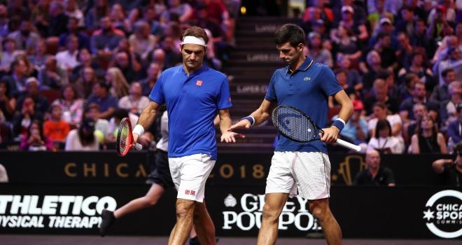 FedererDjokovic çifti ilk maçını kaybetti