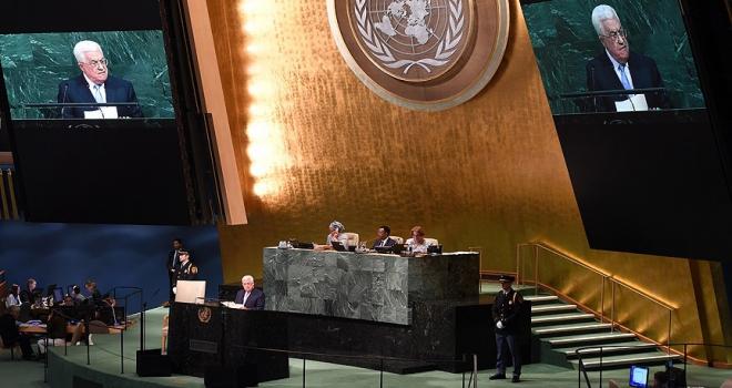 Filistin Devlet Başkanlığı Sözcüsü Ebu Rudeyne: Abbasın BM konuşması barış için son fırsat olabilir