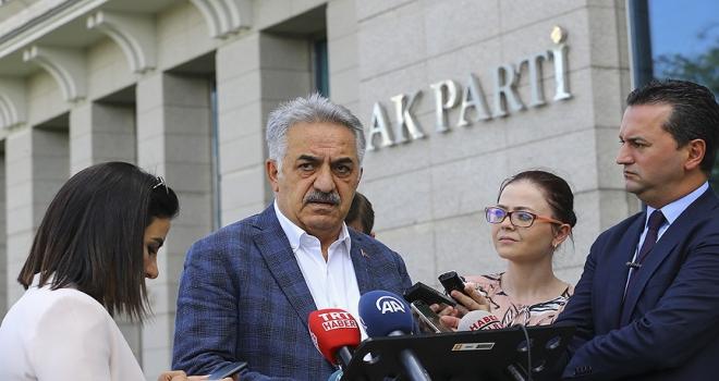 AK Parti Genel Başkan Yardımcısı Yazıcı: MHPnin 7 maddeden oluşan teklifini irdeleyeceğiz