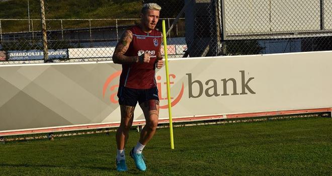 Trabzonsporda Kucka fazla süre alamadı