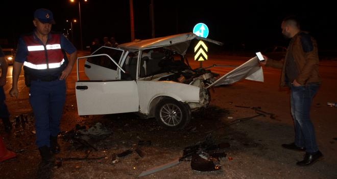 Ankarada trafik kazası: 1 ölü, 2 yaralı