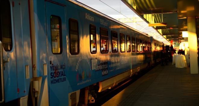 Sosyal Kooperatif Eğitim ve Tanıtım Treni, Eskişehirde