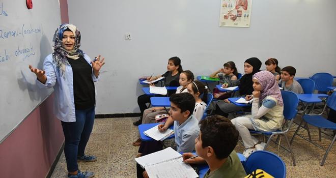 Kerkükte Türkçe eğitim veren okullara yoğun ilgi