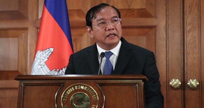 Kamboçya Dışişleri Bakanı Sokhonn: Kamboçya, Türkiyeyi FETÖ konusunda desteklemeye devam edecek