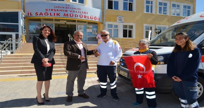 Kırşehire TANAPtan yeni ambulans