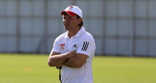 Demir Grup Sivasspor Teknik Direktörü Tuna: Zorlu bir deplasman olacak