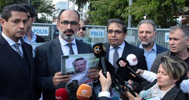 Türk Arap Medya Derneğinden Suudi konsolosluğuna Kaşıkçı talebi