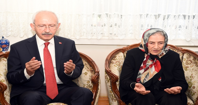 CHP Genel Başkanı Kılıçdaroğlu Eskişehirde