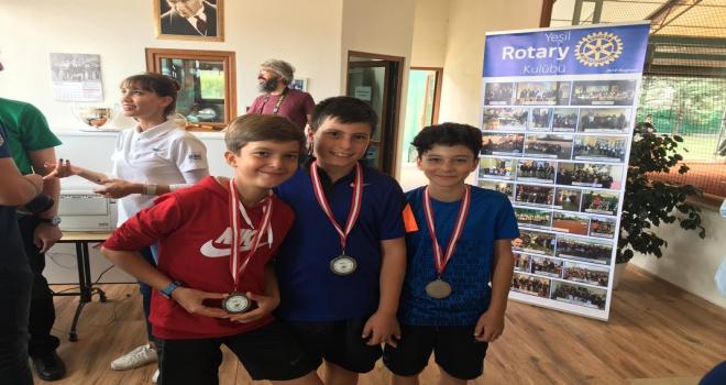 Kırşehir Belediyesi sporcularının başarısı