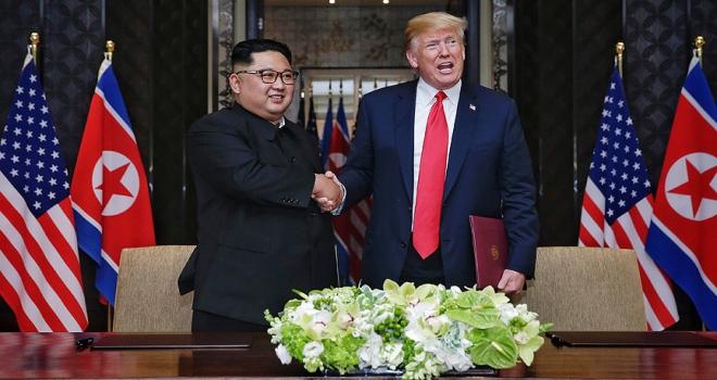 ABD Başkanı Trump: Kim ile tekrar görüşmeyi dört gözle bekliyorum