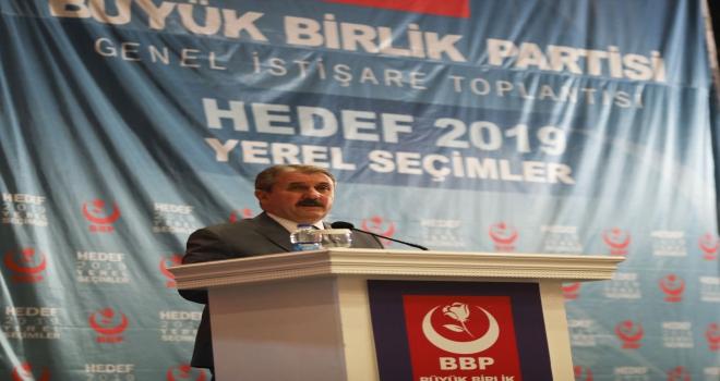 BBP yerel seçimlere hazır