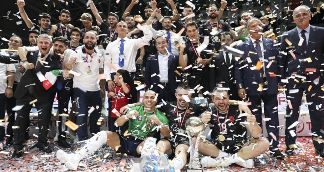 Şampiyonlar Kupasını Halkbank kazandı
