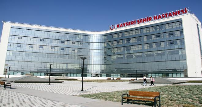 Kayseri Şehir Hastanesinde hava ambulans hizmeti başladı