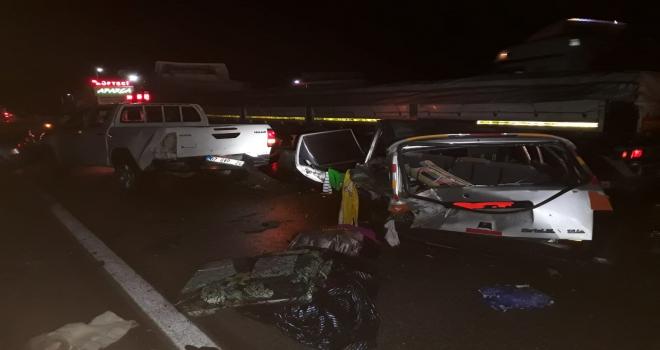 Kırıkkalede zincirleme trafik kazası: 9 yaralı