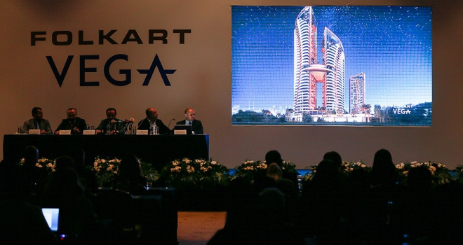 Folkart yeni projesi Vegayı tanıttı
