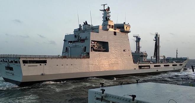 Askeri gemi Pakistana yeni ihracatlara kapı açtı