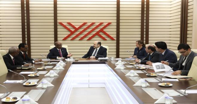 YÖK Başkanı Saraça ziyaret