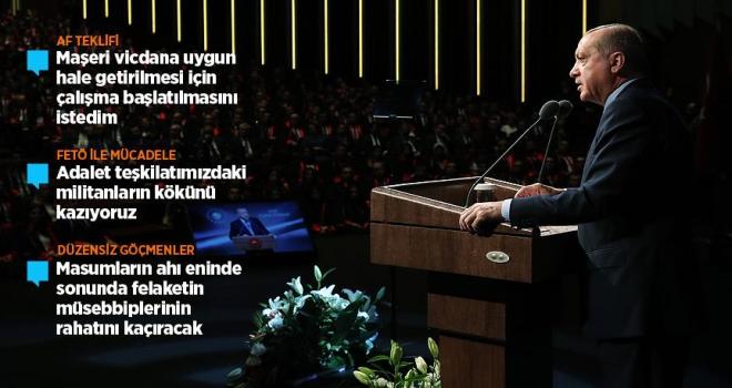 Cumhurbaşkanı Erdoğandan af tartışmalarıyla ilgili açıklama