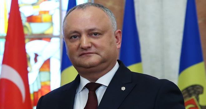 Moldova Cumhurbaşkanı Dodondan Türkiyeye teşekkür