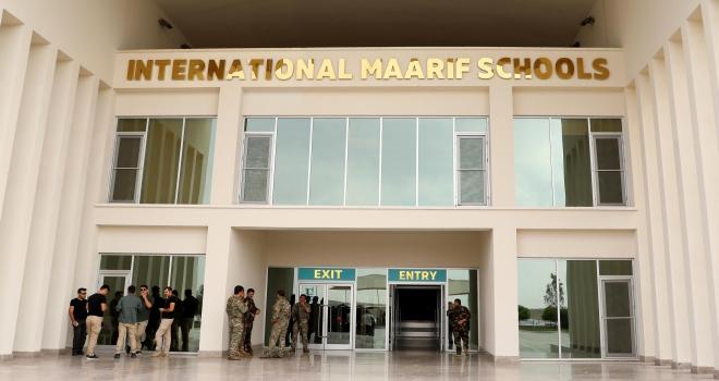 Erbil Uluslararası Maarif Okulunun resmi açılışı yapıldı