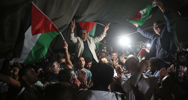 Filistinlilerden Han elAhmerdeki gösterilere devam kararı