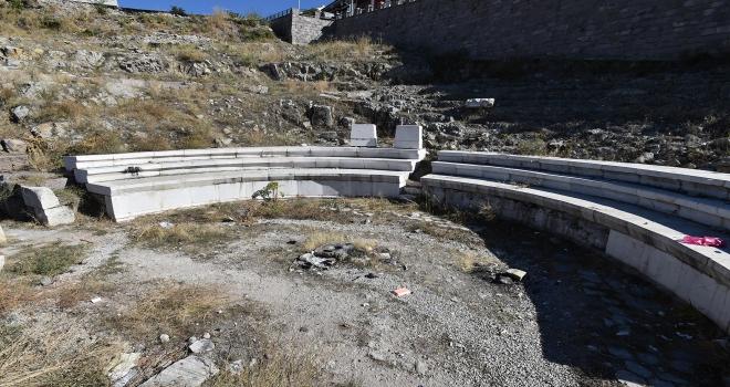Antik Roma Tiyatrosuna koruma