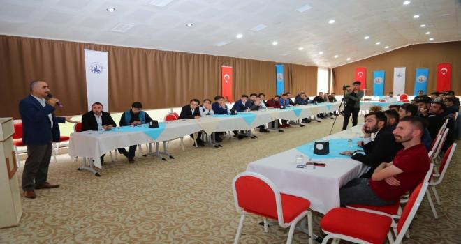 Başkan Aydın AK Partili başkanlarla buluştu