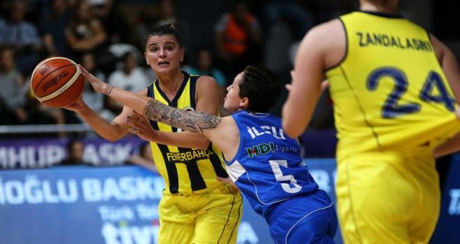 FIBA Kadınlar Avrupa Liginde perde açılıyor