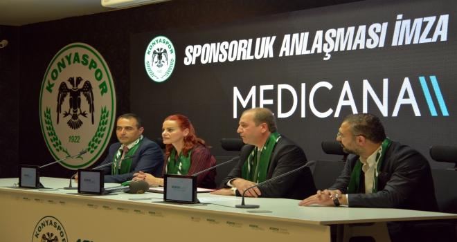 Konyasporda sponsorluk anlaşması