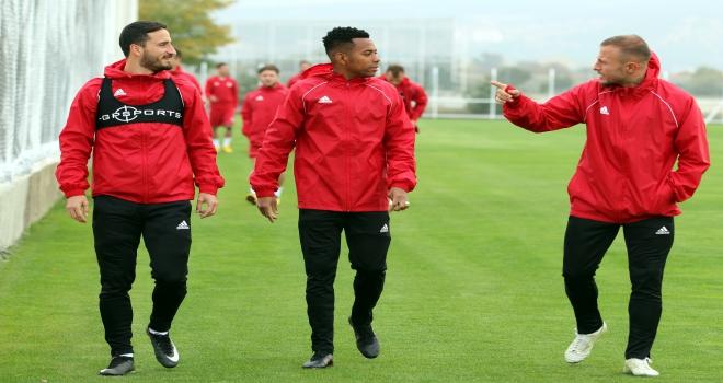 Sivassporda Kayserispor maçı hazırlıkları