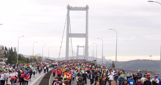 Şampiyonlar, Vodafone 40. İstanbul Maratonu'nda yarışacak