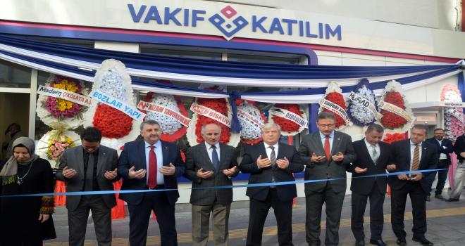 Vakıf Katılımın Karaman şubesi açıldı