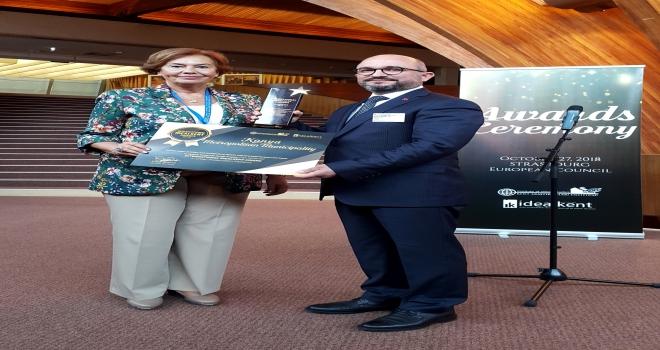 Konya Büyükşehir Belediyesine uluslararası ideal kent ödülü