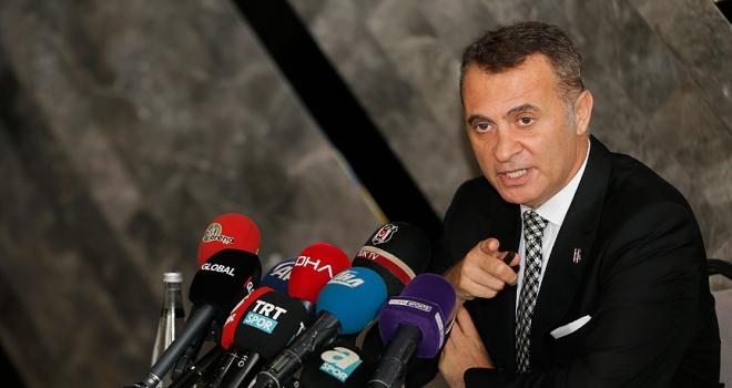 Beşiktaş Kulübü Başkanı Orman: Sezon sonunda şampiyonluk kupasını kaldıracağız