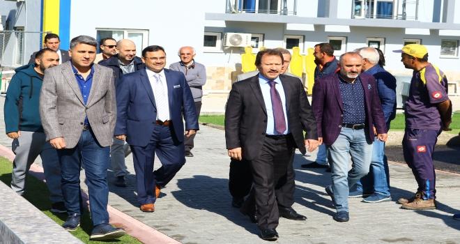 MKE Ankaragücünün antrenman sahası yenilendi