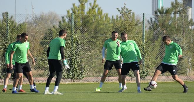 Atiker Konyasporda Demir Grup Sivasspor maçı hazırlıkları