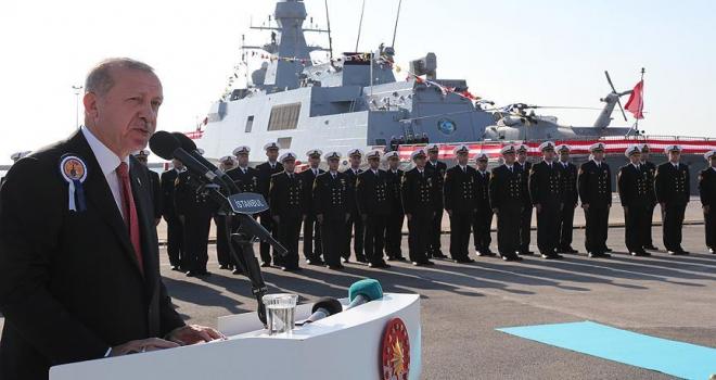 Türkiyeyi denize ayak basamayacak hale getirmeyi amaçlayan çabalara asla izin vermeyeceğiz