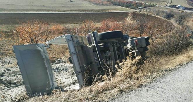Çubuk'ta trafik kazası: 1 yaralı