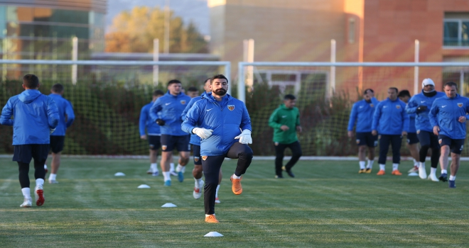 Kayserisporda Galatasaray maçı hazırlıkları başladı