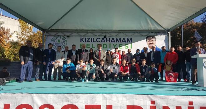 Balkan şampiyonu törenle karşılandı