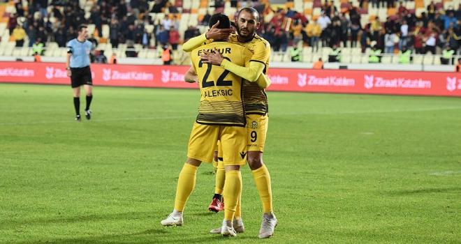 Evkur Yeni Malatyaspor deplasmanda kazandı