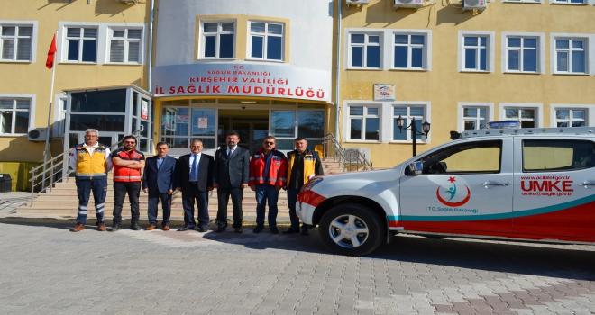 Kırşehire yeni UMKE aracı gönderildi