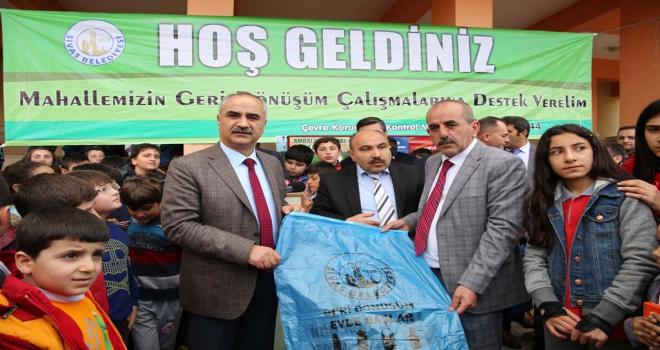 Sivas Belediyesi dönüşümle ağaçları kurtardı