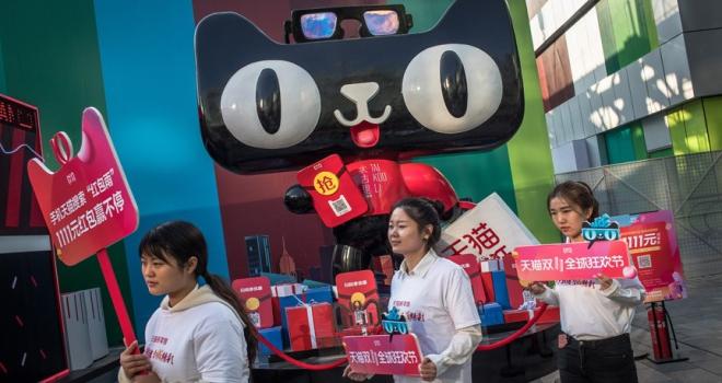 Çinin Bekarlar Günü hasılatı 30,8 milyar dolar