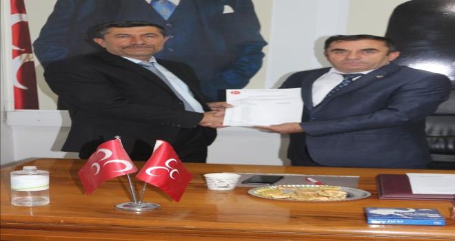 MHP Şereflikoçhisar İlçe Başkanlığına Duru atandı