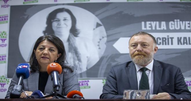 HDP il eş başkanları toplantısı
