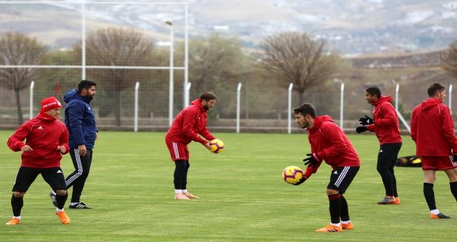 Sivassporda Çaykur Rizespor maçı hazırlıkları