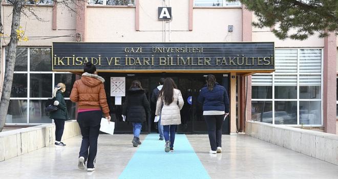 Lisansüstü eğitim görecek adaylar ALESte ter döktü