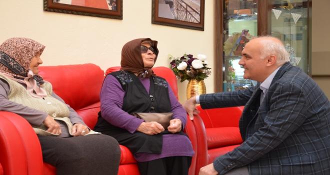 AK Parti Kızılcahamam İlçe Başkanı Acardan anlamlı ziyaret