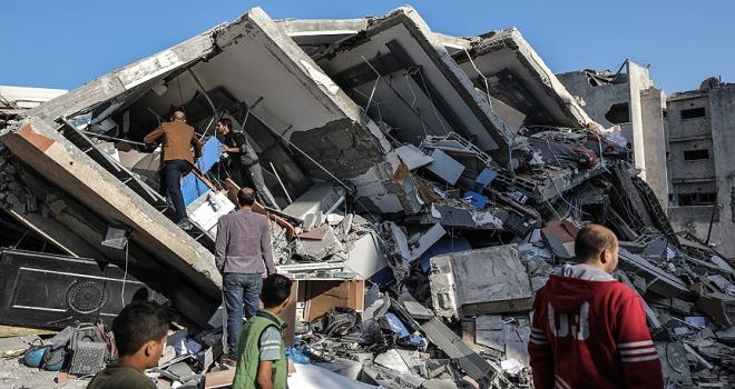 İsrailin yıktığı Aksa televizyonundan yardım çağrısı
